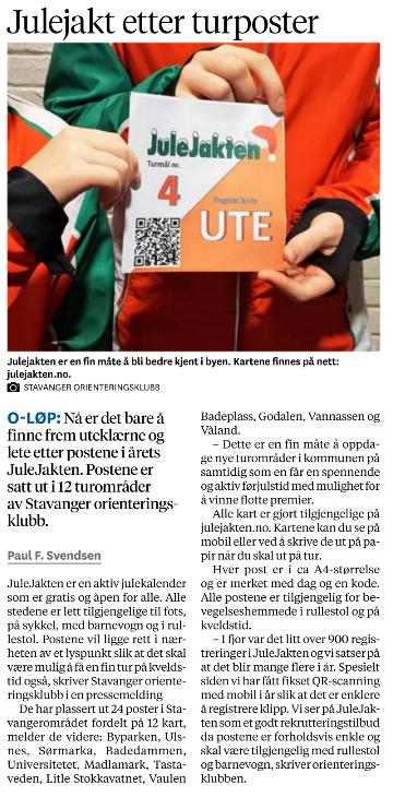 2018 – Stavanger Aftenblad